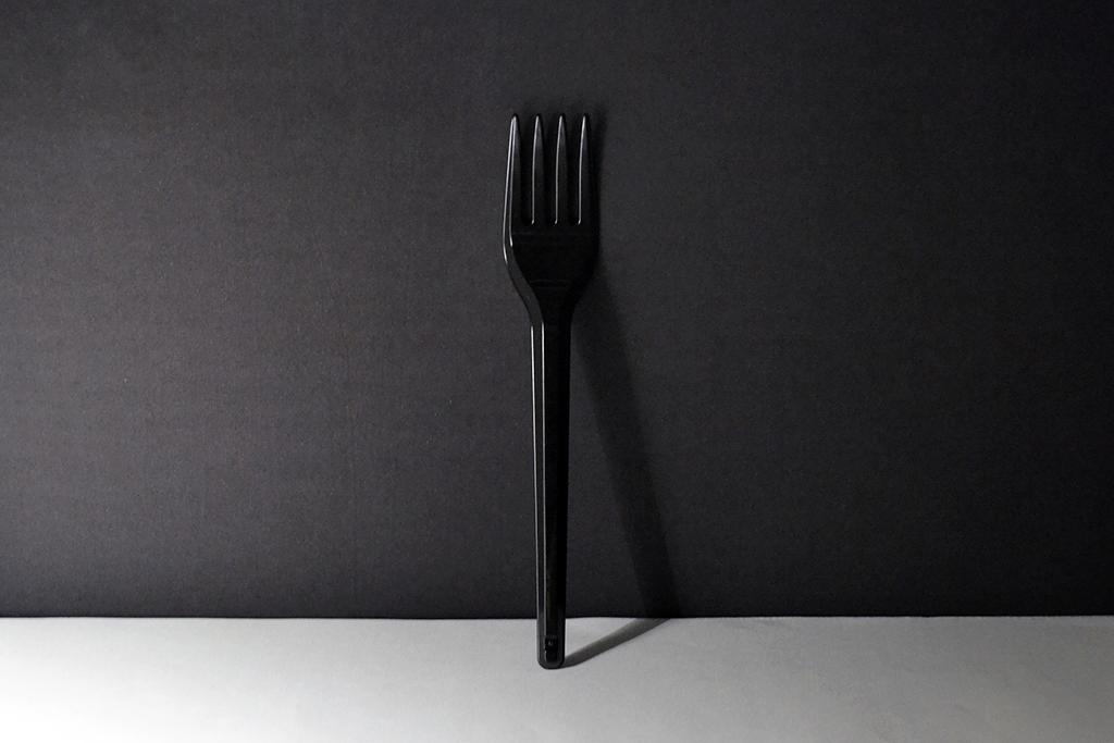 garfo preto