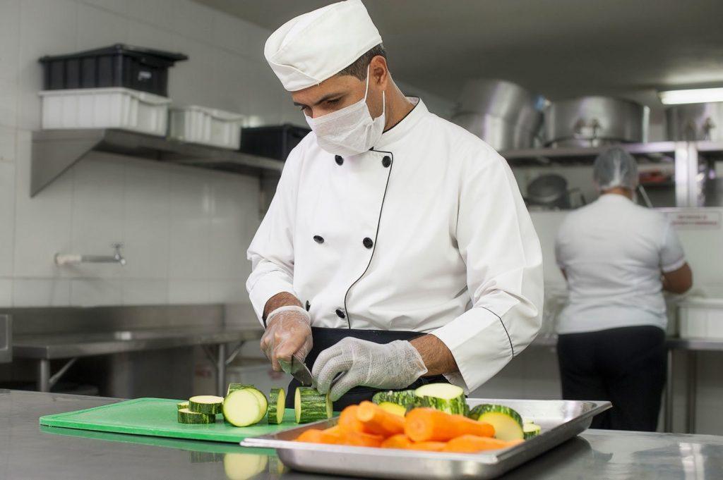 cozinha e plástico na proteção