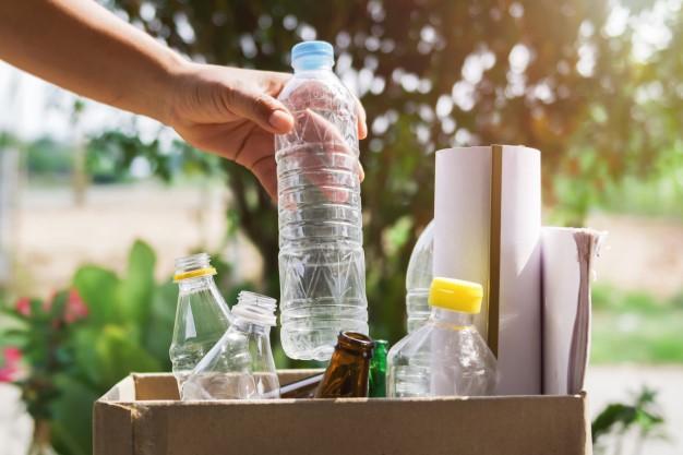 produtos em descarte para reciclagem